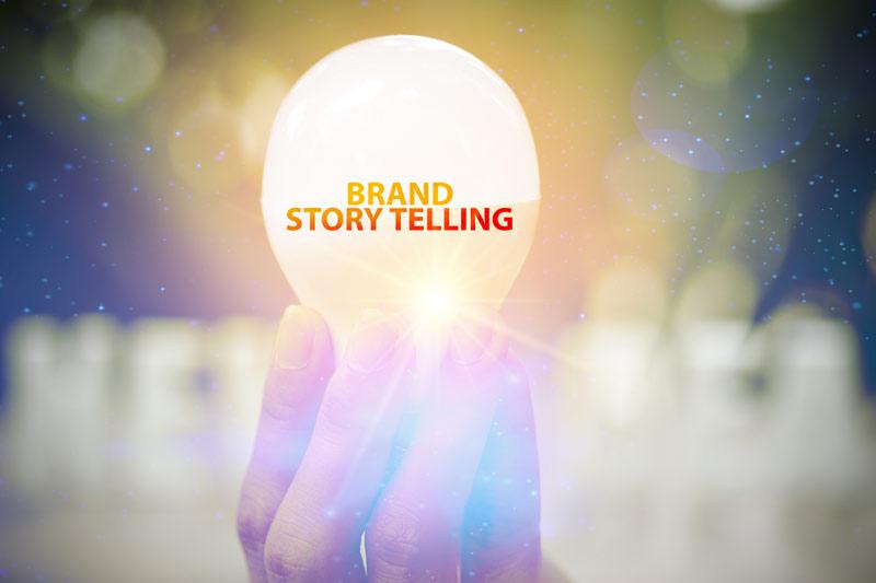 Brand-Storytelling lightbulb