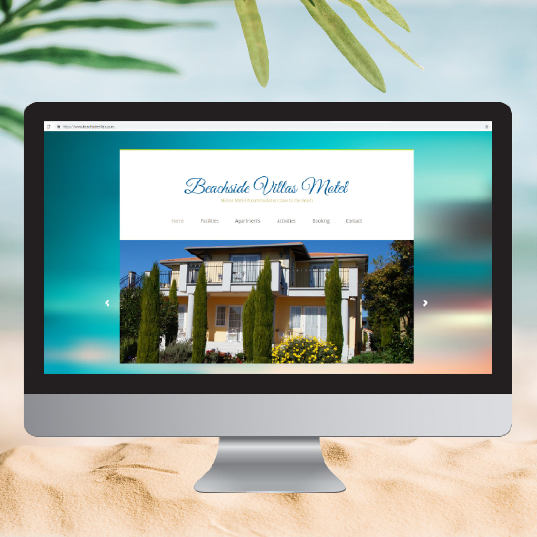 Website Copywriting for Beachside Villas Motel